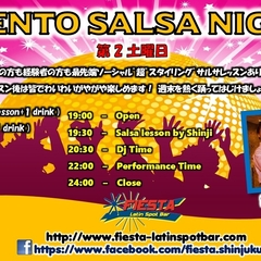 ★VIENTO SALSA NIGHT @新宿FIESTA