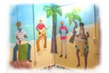 Tropical NY あおちゃんのスタジオ
